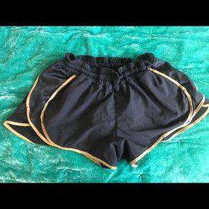 Lululemon squad shorts